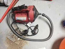 Ridgid K 30 Electric Drain Snake Auto Clean Drain Cleaner