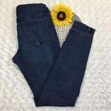 Old Navy Womens Rockstar Jeans Size 8 Slim Skinny Stretch Blue Denim NB780
