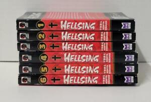 Hellsing Manga Volumes 1-6 Dark Horse by Kohta Hirano English