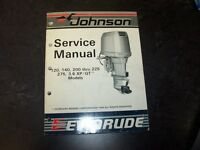 1986 johnson evinrude 120 140 200 hp outboard motor shop. Black Bedroom Furniture Sets. Home Design Ideas