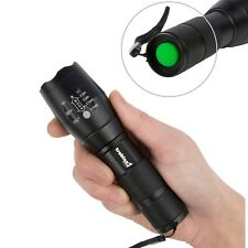CREE T6 LED Torch Military Zoom Flashlight Spotlight Powerful 2000 Lumen Light