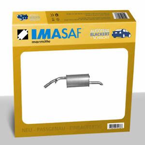 IMASAF ESD Auspuff Endtopf für Citroen + Peugeot C3 + C4 + 208 + 2008 1.2 2009-