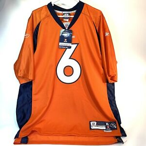 Reebok Authentic NFL Players Equipment Denver Broncos Jay Cutler Jersey XL BNWT