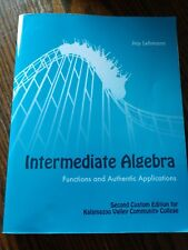Intermediate algebra 2nd edition Kalamazoo Valley Community College