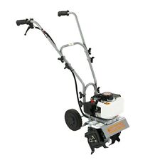 Dirty Hand Tools 10 Inch Mini Cultivator, 43cc 2 Cycle Engine