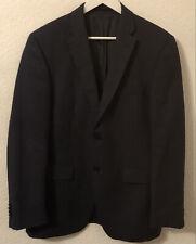ROY ROBSON Herren Sakko Jacke Blazer Jackett Blau Gr. 48 100% Schurwolle