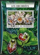 Djibouti 2016 Orchids Souvenir Sheet Mint Never Hinged