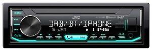 JVC KD-X451DBT MP3-Autoradio mit Bluetooth DAB USB iPod AUX-IN
