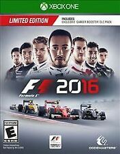 Brand New F1 2016 Formula 1 Xbox One Game