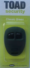 Toad alarm Green 2 button remote fob case a101cl, Rk30, Toad sterling ONE,