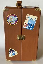 """MUFFY VANDERBEAR """"GRAND TOUR COLLECTION""""TRUNK 12"""" TALL- 6""""WIDE- INSIDE STORAGE"""
