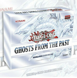 GHOSTS FROM THE PAST MINI-BOX   3 PACKS PER BOX YuGiOh Pre-Order SEALED