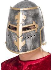 Medieval Crusader Helmet Adult Mens Smiffys Fancy Dress Costume Accessory