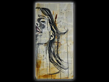 ANDREA Bild Unikat Acryl Gemälde Handgemalt Wandbild modern Kunst Abstrakt Art