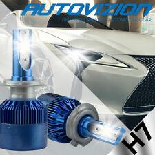Pair H7 388W 38800LM Car LED Headlight Bulbs Cree COB kit 6000K White