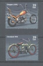 USA 2006 Motorcycles issue: 1970 Chopper, 1918 Cleveland, Fine Used