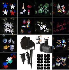 proiettore luci fantasia per natale feste magico stelle esterno interno multicol