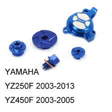 CNC Engine Oil Filter Plugs & Timing Inspection & Drain & Cover for YZ250F/450F