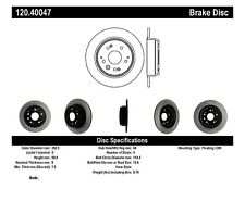 Disc Brake Rotor-High Performance Slotted Centric fits 99-03 Acura TL