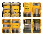 NIB NEW - DEWALT 100-Piece Screwdriver Drill and Drive Bit Set w/ 4 Hard Cases