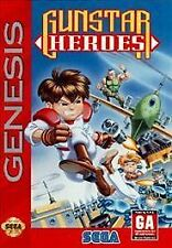 Gunstar Heroes, (SEGA Genesis)