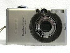 CANON PowerShot ELPH SD400 IXUS 50 5.0MP Digital Camera + SD Card  GOOD - TESTED