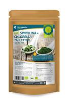 FP24 Health Bio Spirulina + Chlorella Tabletten 400mg - 500g - Platensis Algen