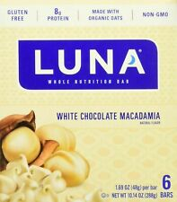 Luna BAR - Gluten Free Snack Bars White Chocolate Macadamia Flavor