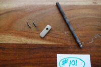 Colt Anaconda Mainspring W/ Spring and Plate Matte Stainless Great Shape