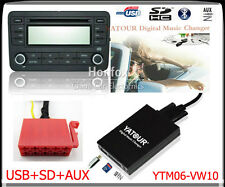 Yatour Digital CD changer 10pin for 1993-98 VW Passat Jetta Golf SD USB Adapter