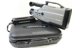 Panasonic Ag-188 VHS Reporter Movie Camcorder with Case and Power Supply