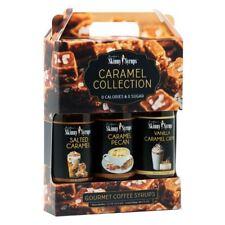 Jordan's Skinny Syrups 3 Pack Caramel Trio Sugar Free Zero Calorie Coffee Syrups