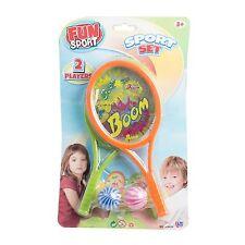 Fun Sport Set 2 Player Game Bat Ball Beach Toy Children Summer Activities Kids