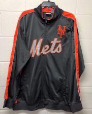 NWT Men's Jacket Mets New York Blue Orange Jacket Winter Zip-up  *2xl