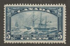 Canada 1933 #204 Royal William - F MH