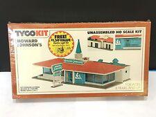 Tyco HO Howard Johnson's Building Kit # 7754B Vintage / Sealed