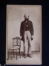 Civil War Soldier Carte de Visite with Revenue Stamp