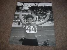 Vera NIKOLIC   World Record 800 Metres  Original PRESS  Photo  20/07/1968