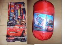 DISNEY Schlafsack 150x65 cm Pixar Cars Kinderschlafsack Cars 2 NEU mit Tasche