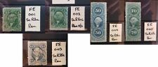 More details for usa foreign exchange revenue 1862-71 choice of stamps cds or pen cancs