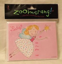ZOOMERANG! Fairy 8 Count Party Invitation & Envelope Pack NEW