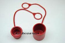 Skid Steer/Bobcat Hydraulic Quick Coupler Cap & Plug