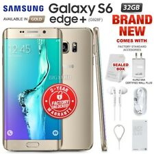 New Factory Unlocked SAMSUNG Galaxy S6 Edge + Plus G928F Gold Android Smartphone