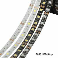 DC12V 0.5m 5m SMD 5050 RGB LED Strip Waterproof 300LED RGB RGBW LED Light Strips