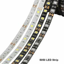 12V 1m 2m 5m SMD 5050 RGB LED Strip Light Waterproof RGB RGBW tape string lamp