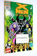 X-MEN DELUXE n. 12 Marvel 1996 Rivelazioni