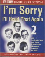 I'm Sorry I'll Read That Again Two 2 Cassette Audio BBC Radio Comedy John Cleese