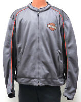 Harley Davidson GRAY MESH RIDING Jacket 3XL Style 98225-06VM made 2006 Eagle