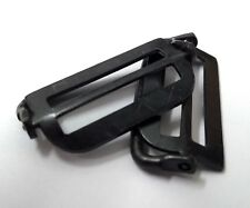 Genuine Military Vintage Black Waist Adjuster Metal Subdued Buckles 1 X Pair NOS
