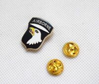 Us Army 101st Airborne Badge Military Shirt Badge Lapel Pin
